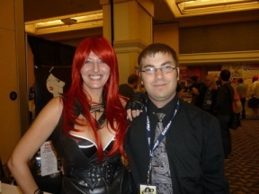 Drakaina Muse & Me - Hal-Con 2011