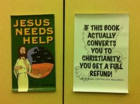 Jesus Needs Help