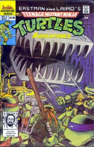 Teenage Mutant Ninja Turtles Adventures #2