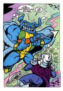 Man Ray vs Shredder
